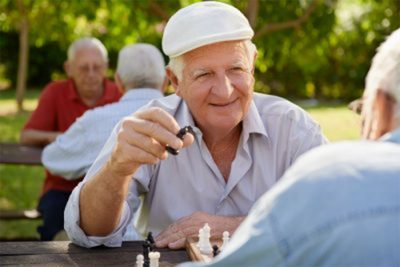 Socializing Boosts Quality of Life for Seniors